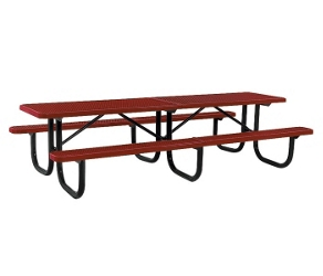 12' Wide Rectangular Outdoor Table, 91371