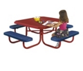 Kids Square Perforated Picnic Table, 85799