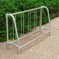Portable 5 ft Single Sided Bike Rack , 87125