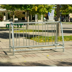 Portable 5 ft Double Sided Bike Rack , 87129