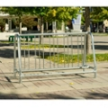 Surface Mounted 5 ft Double Sided Bike Rack , 87130