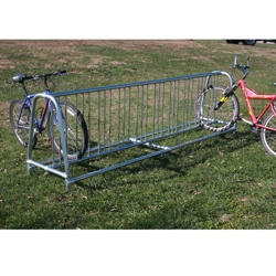 Surface Mounted 10 ft Double Sided Bike Rack , 87132