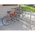 Modern 10 ft Portable Double Sided Bike Rack, 87134