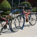Round Horseshoe Surface Mounted Bike Rack , 87940