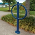 Surfaced Mounted Looped Bike Rack, 87942