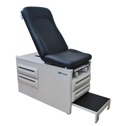 Manual Exam Table with Four Drawers, 26259
