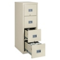 Four Drawer Fireproof Vertical File - Letter/Legal Size, 34024