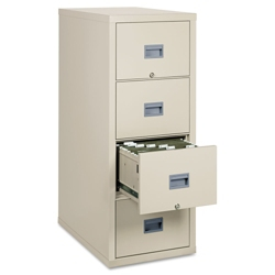 Four Drawer Fireproof Vertical File - Letter Size, 34025