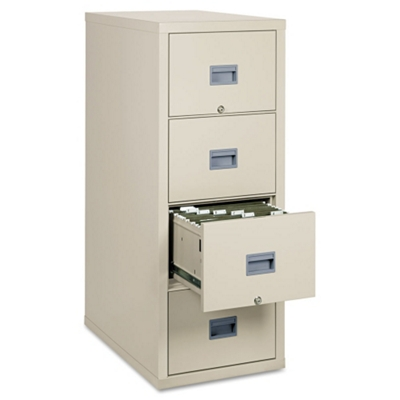 Four Drawer Fireproof Vertical File   Letter Size, 34025