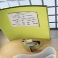 "49""W x 32""H Translucent Frame Dry Erase Board, 80541"