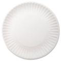 "9"" White Paper Plates - Carton of 1000, 87195"