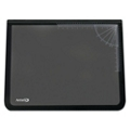 """Desk Pad with Clear Overlay and Rulers - 24""""W x 19""""D, 87466"""