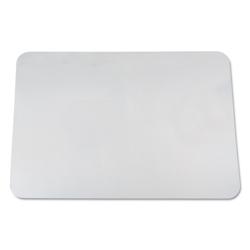 "Clear Vinyl Antimicrobial Desk Pad - 36""W x 20""D, 87468"