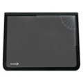 "Desk Pad with Clear Overlay and Rulers - 22""W x 17""D, 87470"