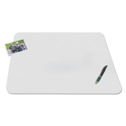 """Matte Vinyl Antimicrobial Desk Pad - 24""""W x 19""""D, 87482"""