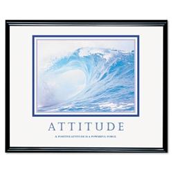 Framed Motivational Print - Attitude, 91117