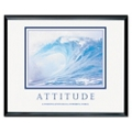Framed Motivational Print - Attitude, 91117