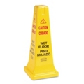 "25""H Wet Floor Safety Cone, 91789"