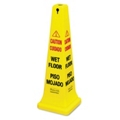 "36""H Wet Floor Safety Cone, 91790"