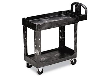 Heavy Duty 2 Shelf Mobile Utility Cart, 220063