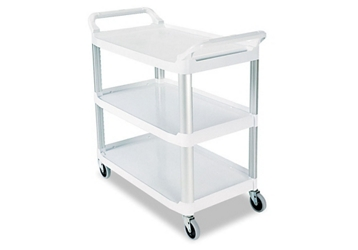 "38""W Three Shelf Utility Cart, 36374"