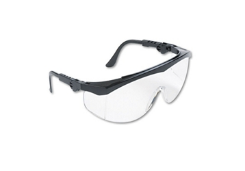 Adjustable Wraparound Scratch-Resistant Saftey Glasses, 87048