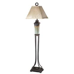 """Olinda 66"""" Porcelain Floor Lamp, 91216"""