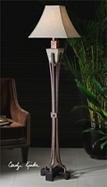 Hand-Carved Floor Lamp, 92522