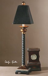 Antiqued Buffet Lamp, 92523