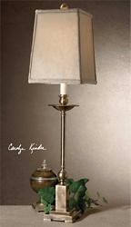 Candlestick Buffet Lamp, 92530
