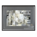 "50""W x 38""H Walking Down the Street Framed Print, 90065"