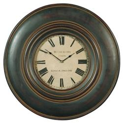 "Adonis Round Wall Clock - 24"" Dia, 91238"