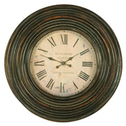 "Trudy Round Wall Clock - 38"" Dia, 91239"
