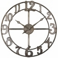 "32""Dia Metal Hanging Clock, 87609"