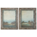 Morning Vistas Framed Wall Art - Set of Two, 87756