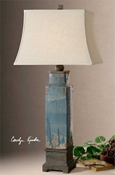 "Ceramic Table Lamp - 37.5""H, 92487"