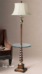 "Twisted Floor Lamp - 64.5""H, 92515"