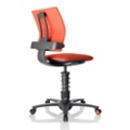 3Dee Black Frame Multi Motion Task Chair, 50891
