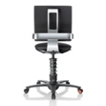 3Dee Polished Frame Multi Motion Fabric Task Chair , 50892