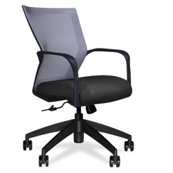 Four-Way Stretch Mesh Mid Back Conference Chair, 52024