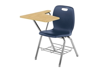 Polypropylene Compact Laminate Tablet Arm Student Chair, 51602