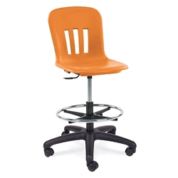 Adjustable Mobile Lab Stool, 50027