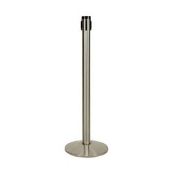 "Polished Aluminum Receiver Post - 40""H, 87964"