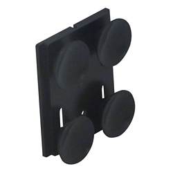 Suction Cup Mount Wall Plate for 15ft and 30ft Wall Mount Barrier Units, 92036