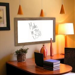 "42""W x 48""H Decorative Wood Framed Whiteboard , 80587"