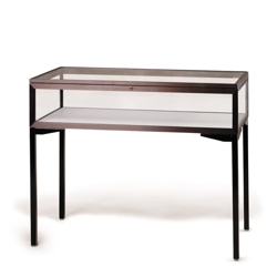 "Lockable Tabletop Display Case with Hinged Top - 48""W, 36459"