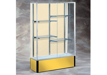 "48"" Wide Spirit Display Case with Fabric Back, 36289"