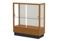 "Oak Trophy Display Case with White Back - 36""W x 40""H, 36818"
