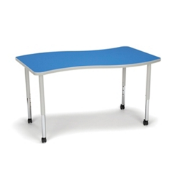 "Standard Height Mobile Wave Table - 54""W, 46914"