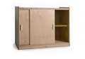 "Sliding Door Storage Cabinet - 41""W, 36681"
